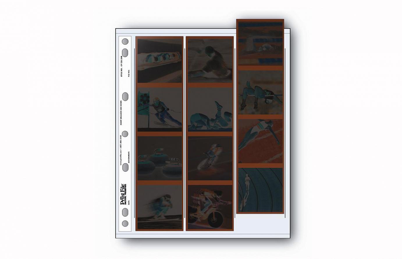 Buste PrintFile 120mm 12 fotogrammi 6x6 multifori 100 fg